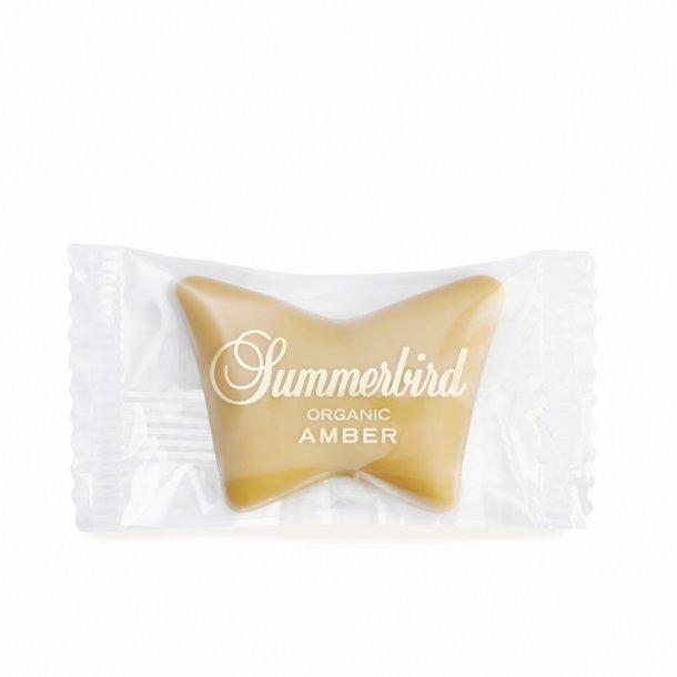 Sommerfugl, Amber