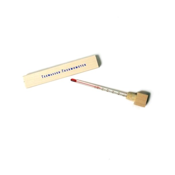 Te-termometer træ